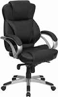 9626L Flash Furniture High Back Leather Office Chair