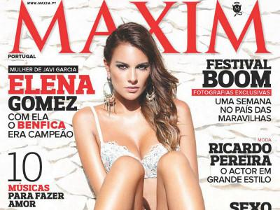 Elena Gomez Maxim Portugal Setembro 2012