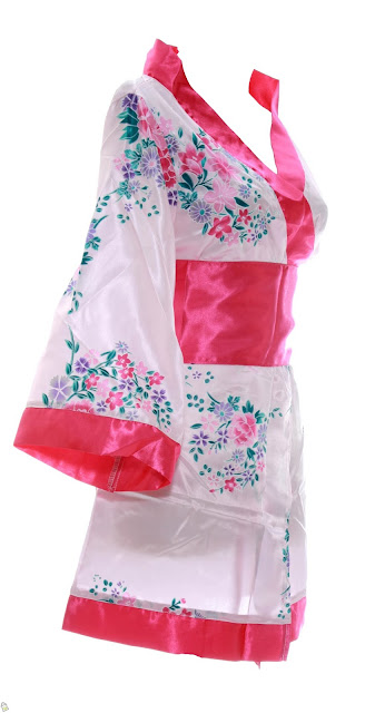 Model Kimono Jepang Bahan Satin