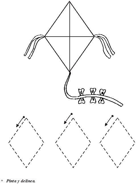 Figuras de rombos para recortar - Imagui