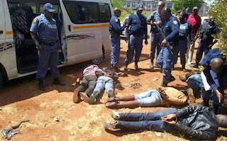 nigerians robbers south africa