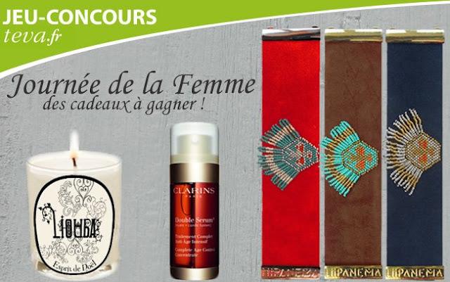 """10 Double sérums Clarins + 5 bougies Liouba + 10 albums BD """"Les hommes viennent de Mars, les femmes viennent de Vénus"""""""
