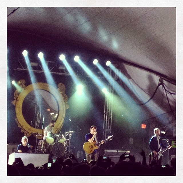 Vampire Weekend at Stubbs 2014 #music #austin