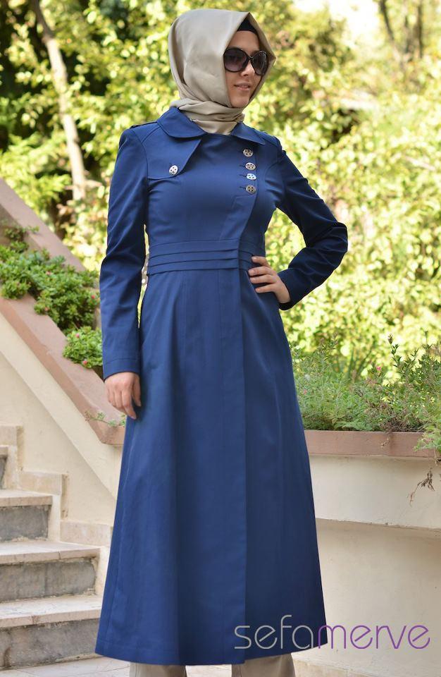 Robe Manteau Hijab Turque Pretty Hala