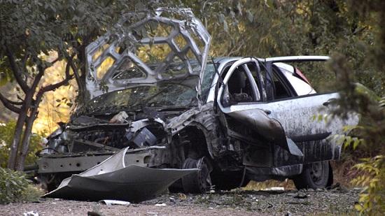 Сашо Диков взривиха колата Ford Fokus