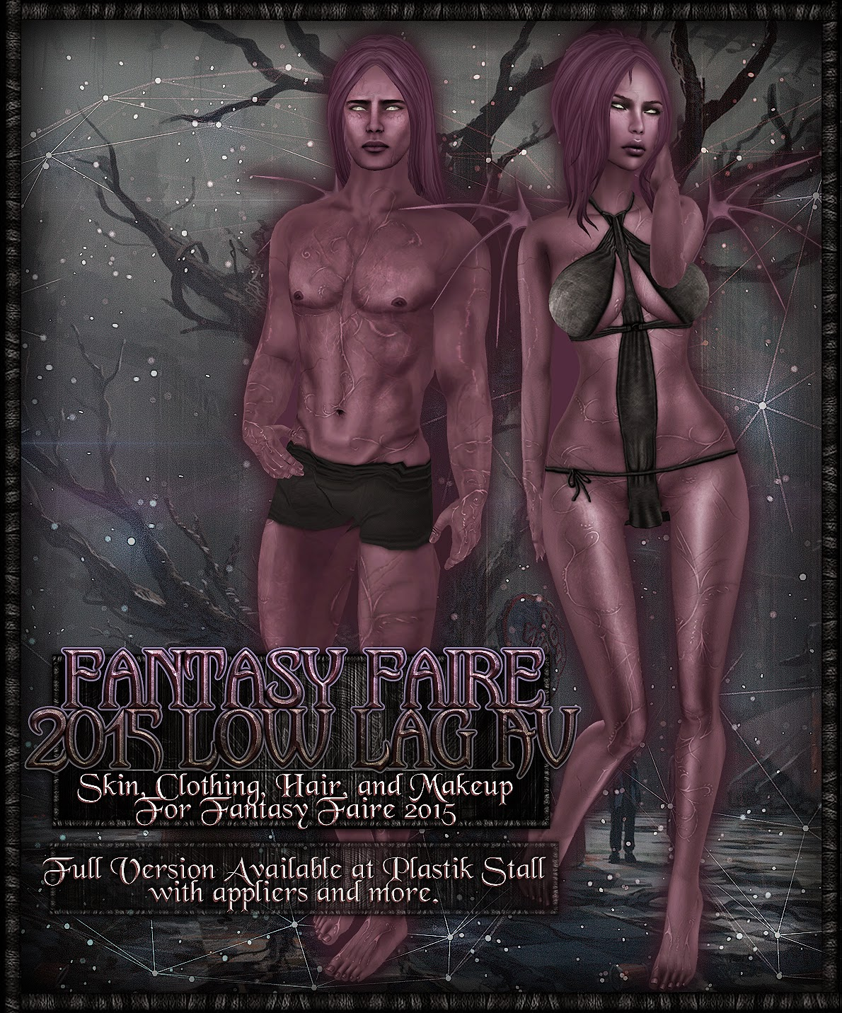 Second Life Roleplay Fantasy Fashion Review: Plastik