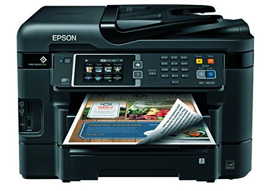 Epson Wf 3640 Printer Driver Download