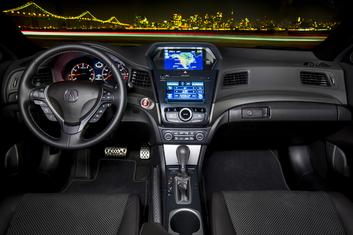 Interior View Of 2016 Acura ILX Tech Plus A Spec