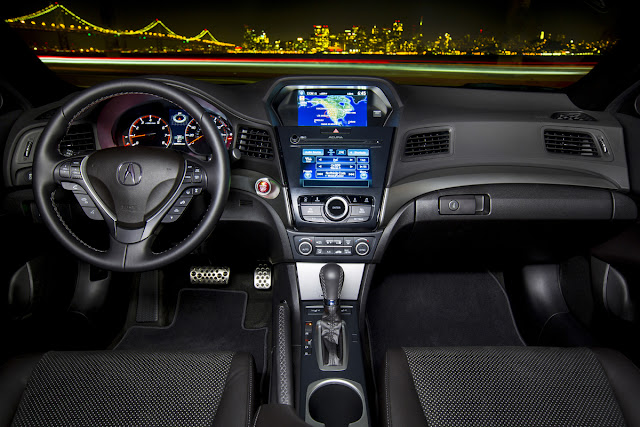Interior view of 2016 Acura ILX Tech Plus A-Spec