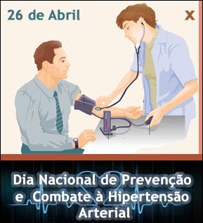 26 de Abril - Dia Nacional de Prevenção e Combate