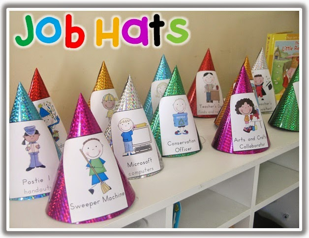 Jumping into Classroom Jobs with Job Hats