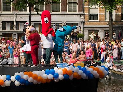 Amsterdam Gay Pride 2012 Parade