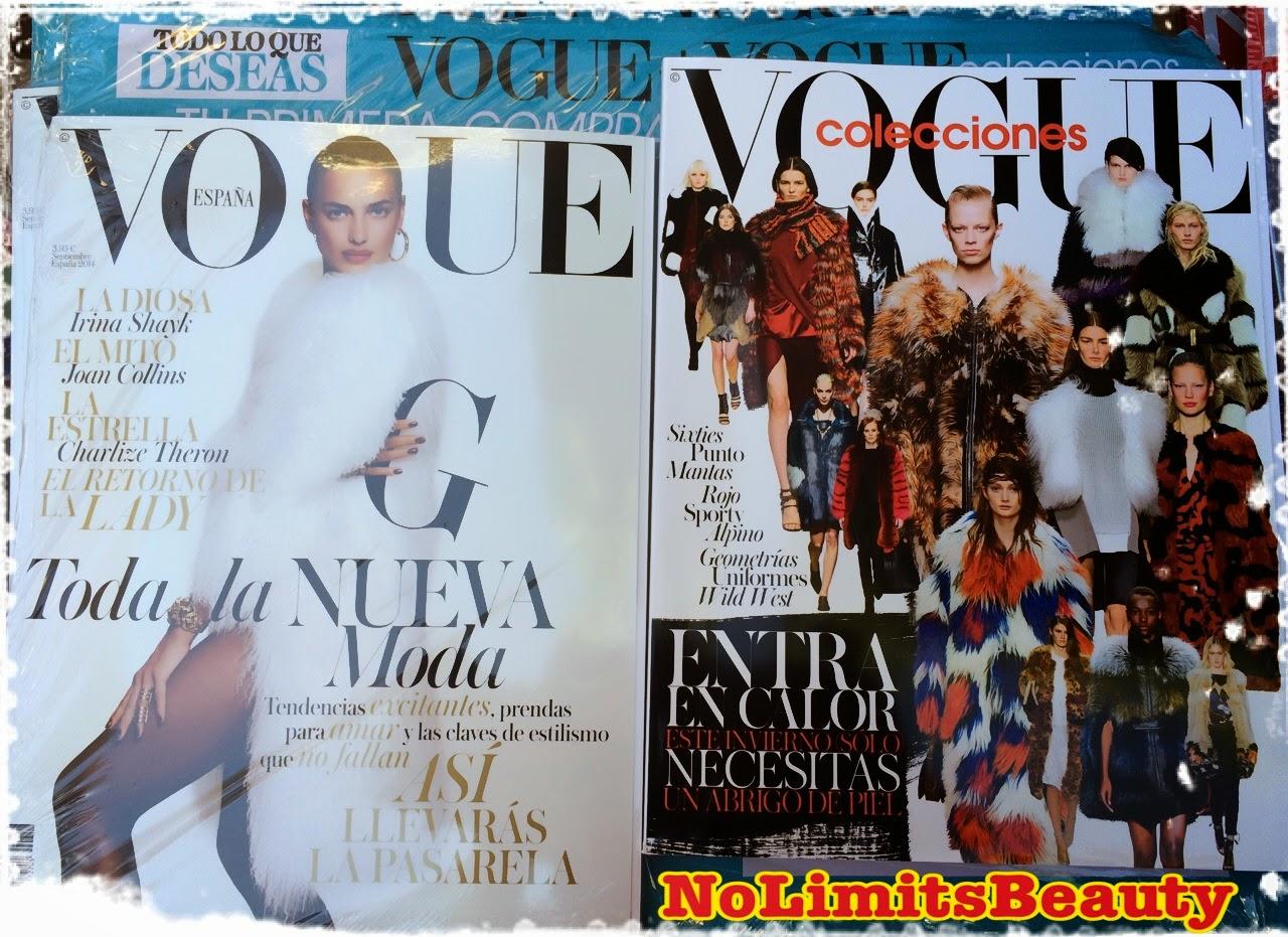Regalos revistas septiembre 2014: Vogue