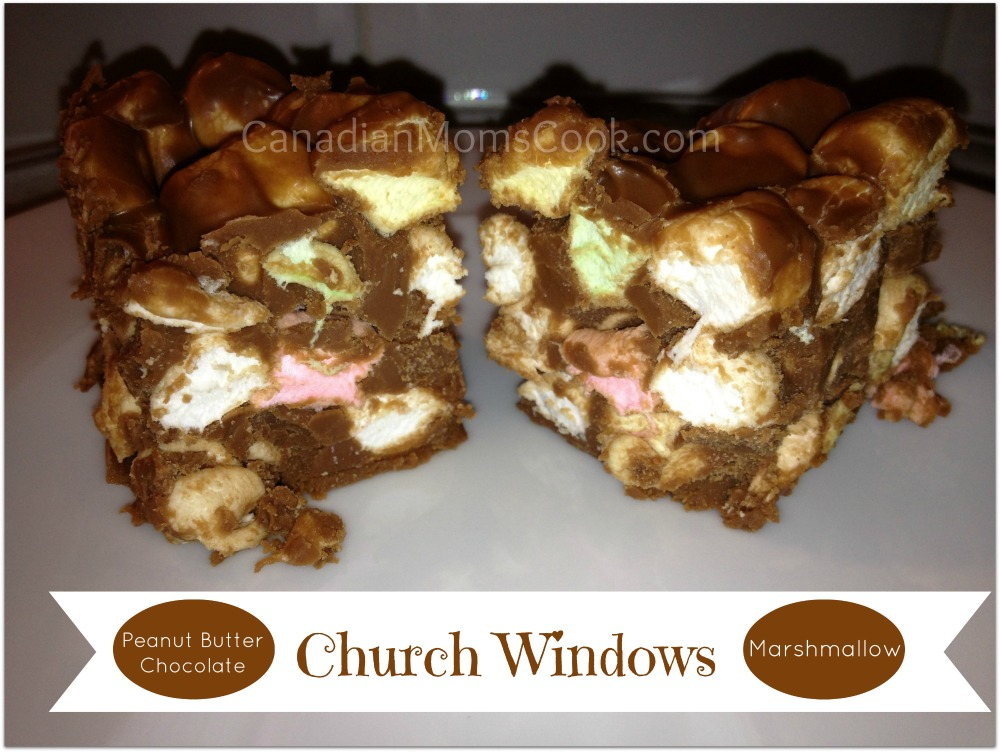 Peanut Butter Chocolate Marshmallow Squares
