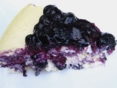 Blueberry Ricotta Cheesecake