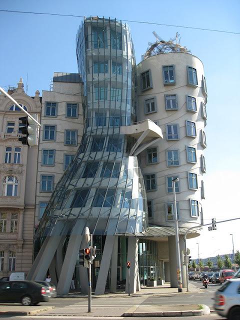 dancing house, dancing building, prague, czech, czech street, czech republic, awesome, engineering, architecture