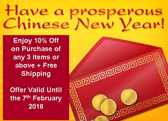 Chinese New Year promotion!