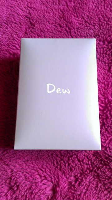 Dew Silver 925 T-bar Heart Necklace gift box