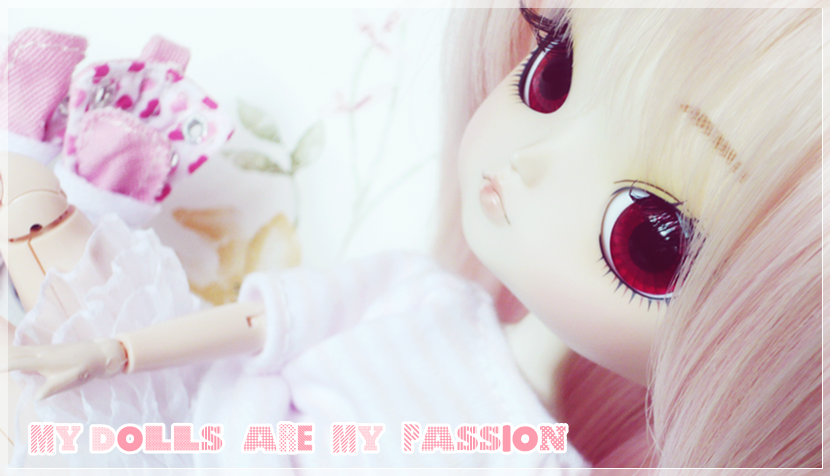 My dolls are my passion