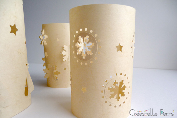 DIY  photophores de Noël / christmas luminaries