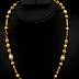 Ruby Beads and Nagas Chain