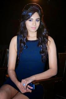 Deepa Sannidhi in Short Black Dress Spicy pics at Enakkul Oruvan Audio Launch