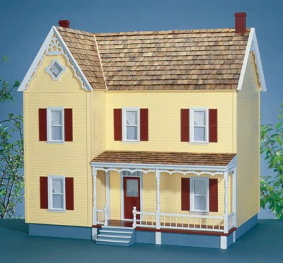 Little Darlings Dollhouses Building The Greenacres Dollhouse