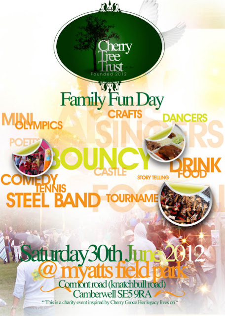 Myatts Fields Park Fun Day flyer