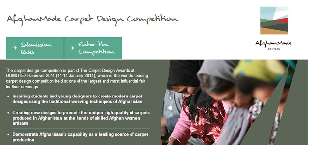 AfghanMade Carpet Design Competition