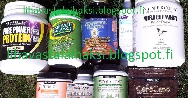 Vitamiinit nettikauppa