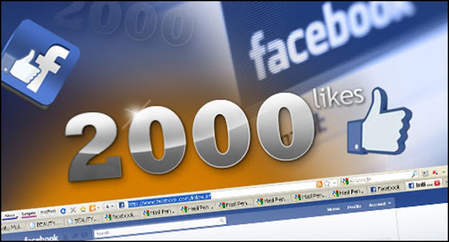2,000 LIKE at Facebook Page