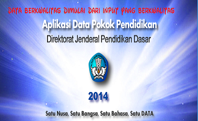 Download Aplikasi Dapodikdas 3.0.0 Tahun Pelajaran 2014/2015