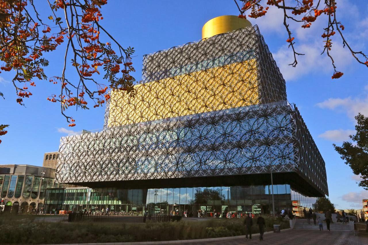 Shadows Amp Light The Library Of Birmingham