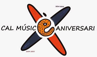 Logotip Xè aniversari