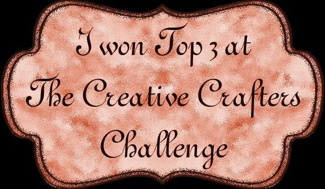 Wyróżnienie w The Creative Crafters