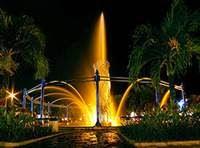 air mancur Taman Bekapai