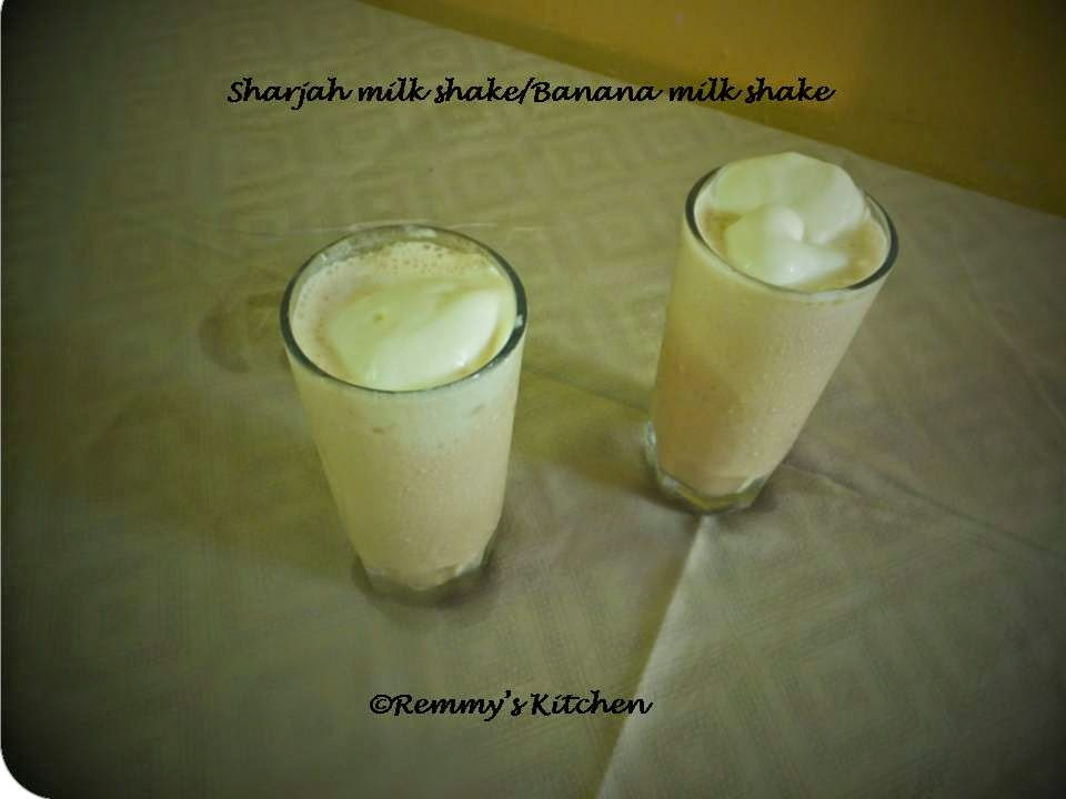Sharjah shake/Banana milk shake