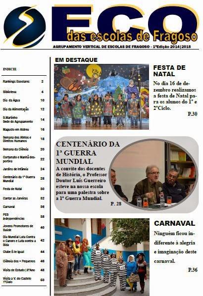 Jornal Online do Agrupamento de Escolas de Fragoso