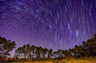 Star Trails, photoshop