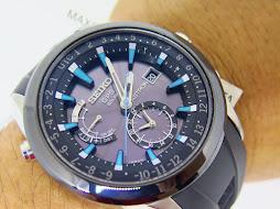 SEIKO ASTRON GPS SOLAR DUAL TIME - 7X52