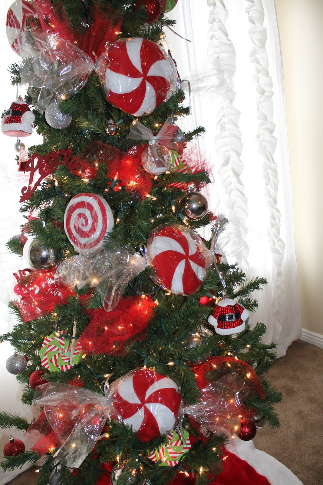 peppermint christmas - Peppermint Christmas Tree