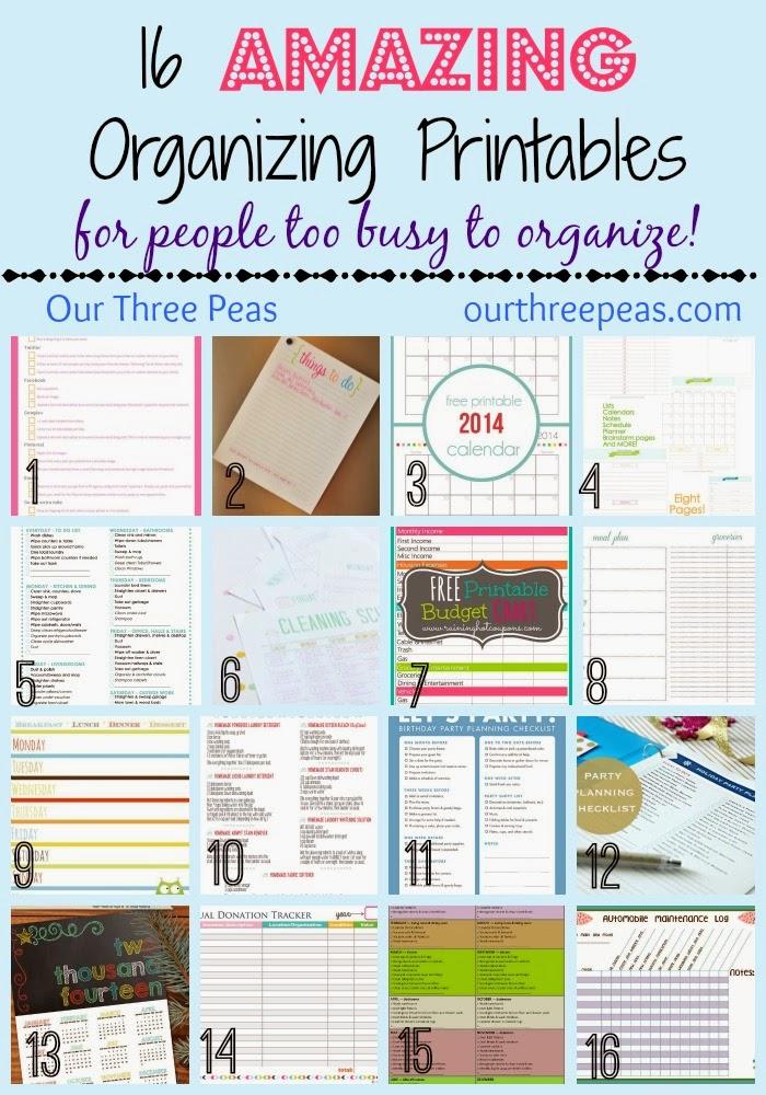 http://ourthreepeas.com/16-organizing-printables-round/