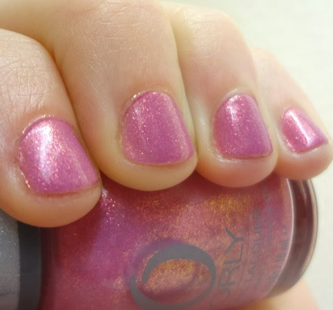 ORLY Preamp nail polish swatch, Radiant Orchid Color of the Year