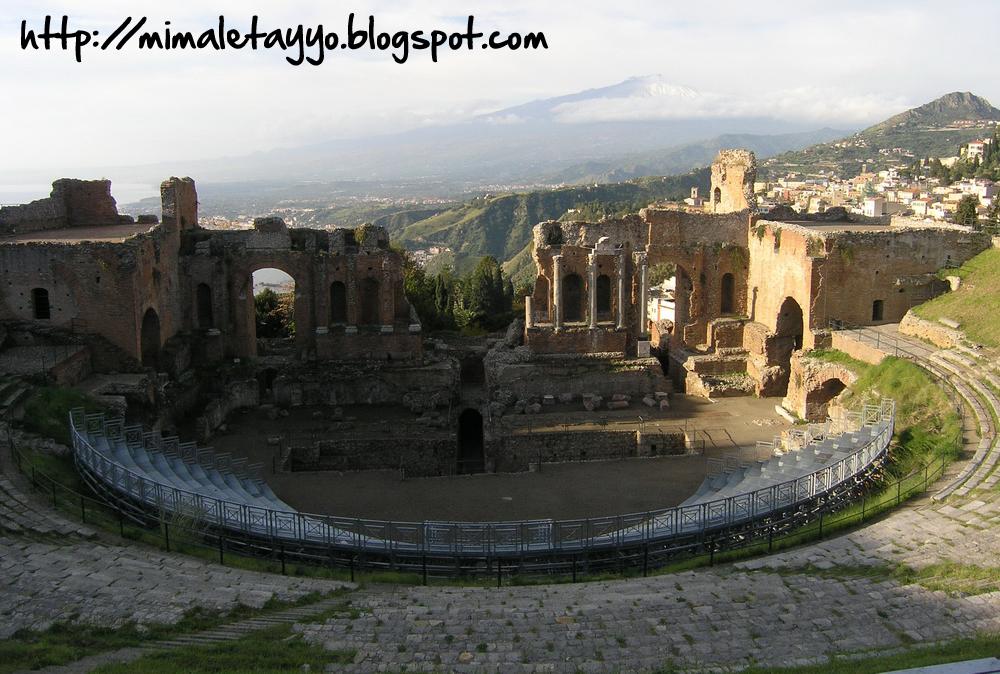 Sicilia - Teatro de Taormina