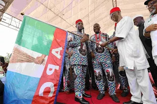 How VP Osinbajo represented President Buhari at the flag off of Anambra APC campaign (see the photos)