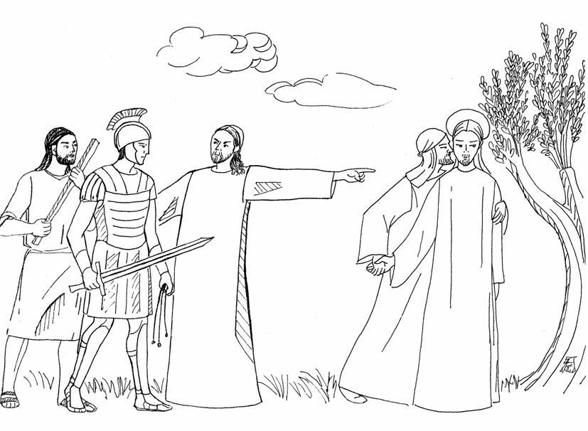 Compartiendo por amor: Jesús es tomado prisionero