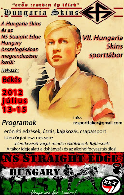NS STRAIGHT EDGE SKINHEADS HUNGARIA SPORT CAMP