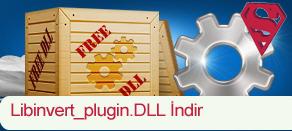 Libinvert_plugin.dll Hatası çözümü.