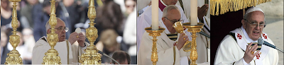 Pope Francis inauguration photos