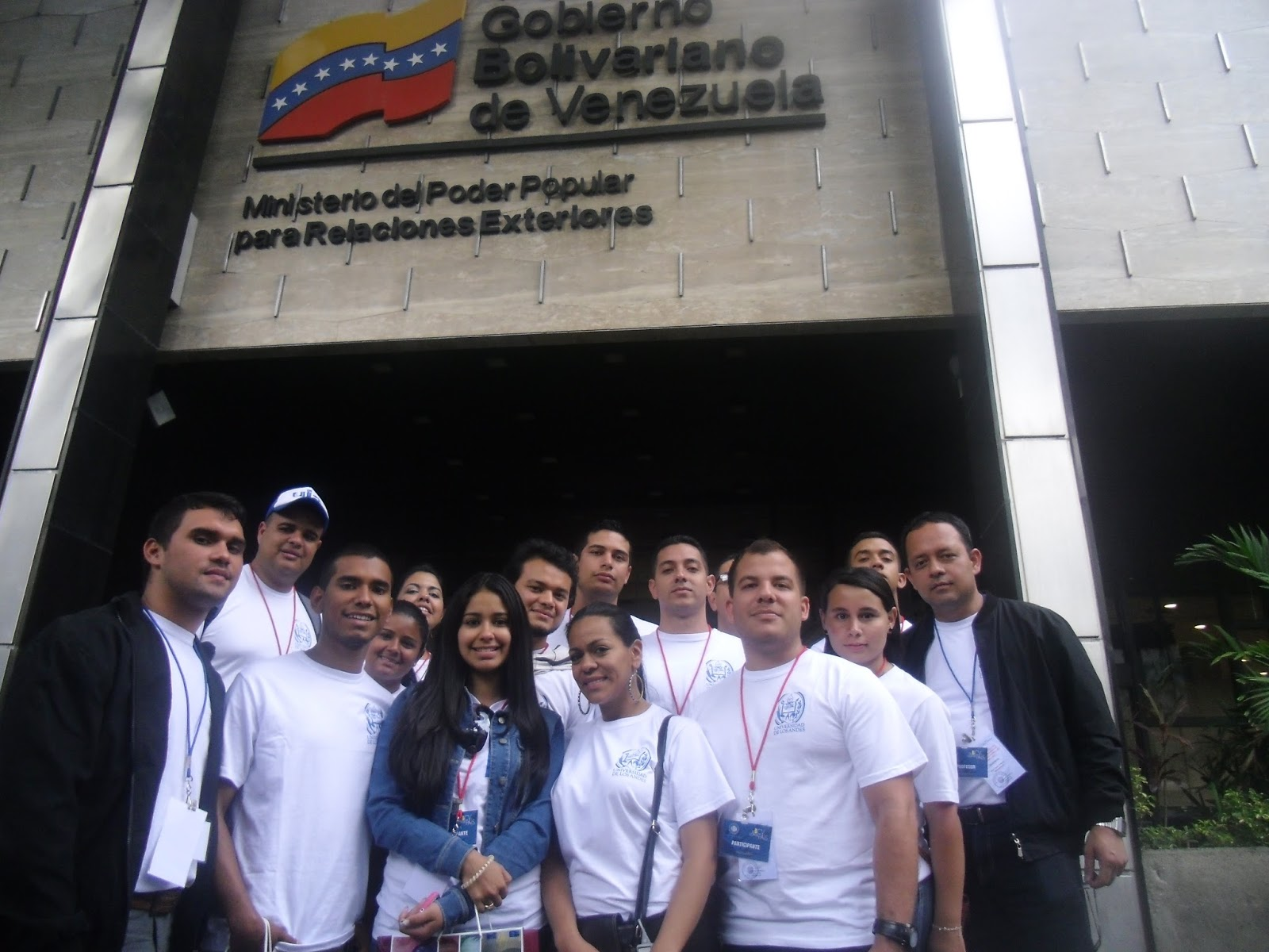 I Visita Al Ministerio Del Poder Popular Para Relaciones Exteriores Y Al Banco Central De